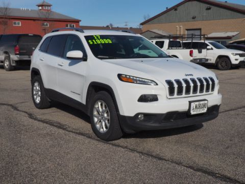 Certified Pre Owned 2017 Jeep Cherokee Laude